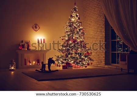 House in Christmas  #730530625