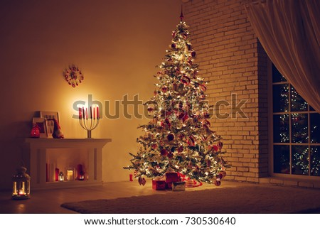 House in Christmas  #730530640