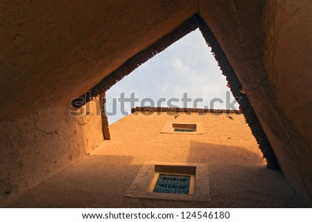 House in medina of Ouarzazate, Morocco