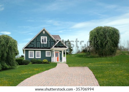 House in rural Area