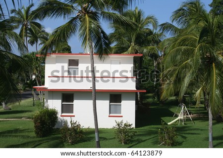 House in Tropical Location
