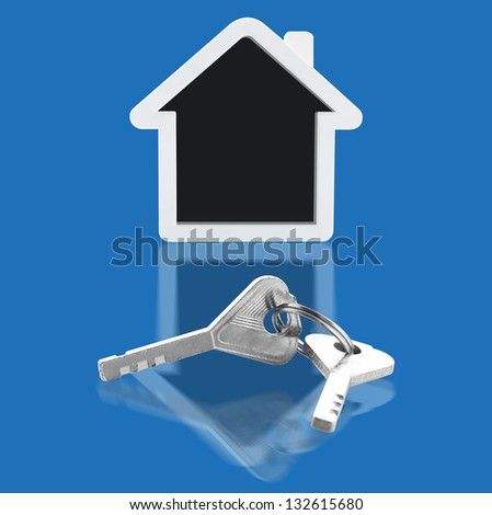 House key and home
