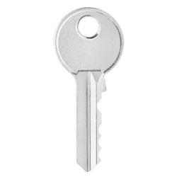 House key, isolated on white background