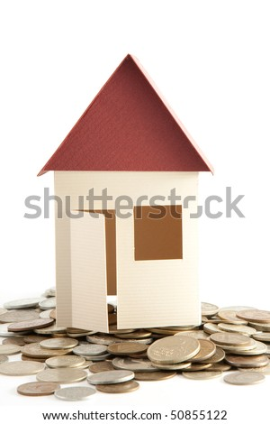House model on coins