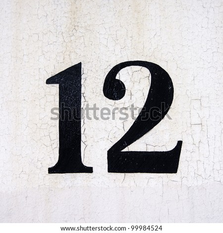 house number 12