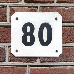House number eighty (80)