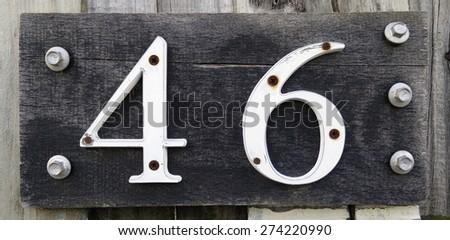 House Number SIgnage
