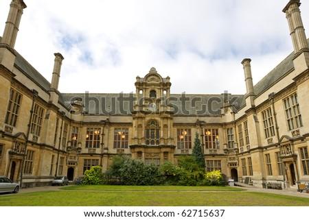 House of Examination Schools. Merton Street, Oxford, UK