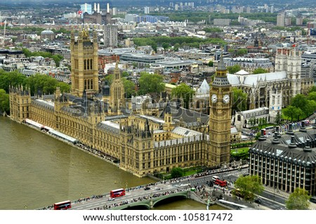 House of Parliament and Big Ben, London, United Kingdom
