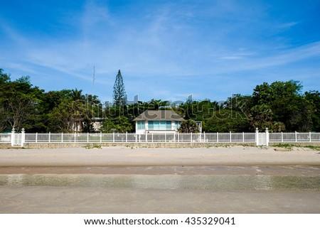 House on the beach, Hua-hin, Thailand #435329041