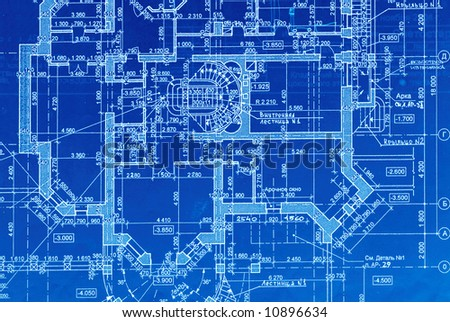 House plan blueprints close up stock photo 10896634 for How to make a blueprint