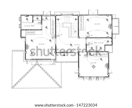 House plan - Ceiling and Lighting plan