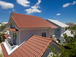 House Roofs tiles, new styles and colors