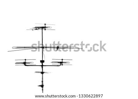 House signaling pole #1330622897