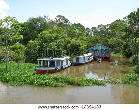 Houseboat, Amazon - Brazil