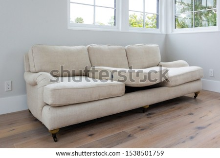 Household furniture and fixtures with chairs, tables, couches and chandeliers. #1538501759