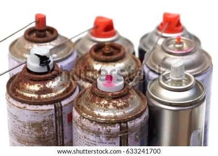 Household Hazardous Waste - aerosol cans