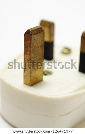 Household UK three pin plug