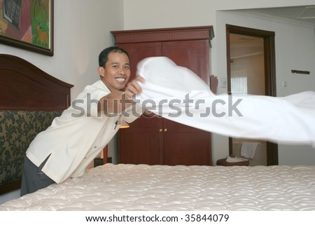 housekeeping in action