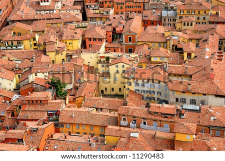Houses in Bologna  Italy