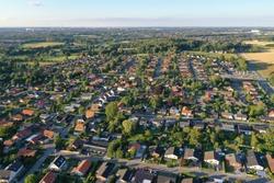 Houses in Skt Klements in Odense S, Denmark