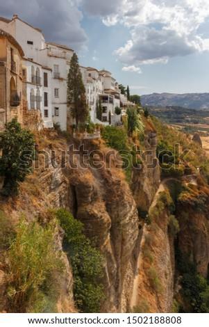 Houses in the Tajo de Ronda #1502188808