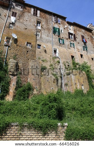 Houses in Zagarolo. Zagarolo is a little town and comune in the province of Rome, in the region of Lazio of central Italy.