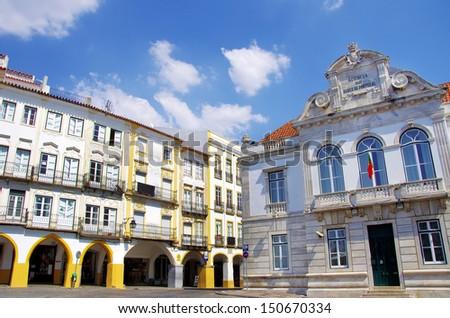 Houses of Giraldo square, Evora