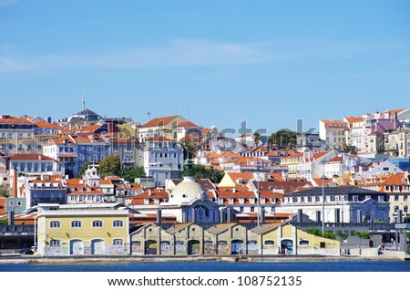 Houses of Lisbon, Portugal.