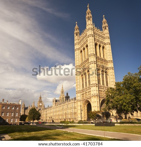Houses of Parliament in London, United Kingdom