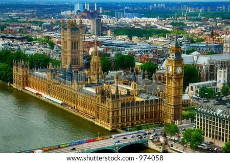 Houses of parliament, London - England - United Kingdom