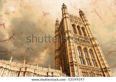 Houses of parliament - Victoria Tower