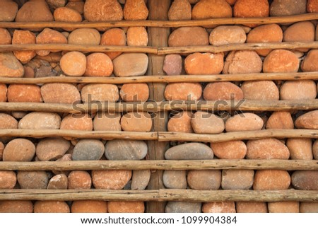 Houses with Stone walls - Limpopo National Park - Mozambique