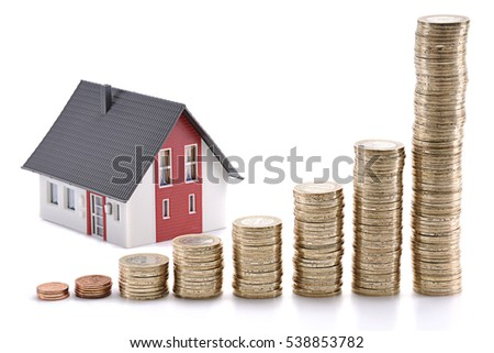 Housing Prices Rising Concept #538853782