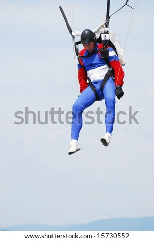 Hovorka Ivan of Czech participates in World Parachuting Championships in Style & Accuracy -  Lucenec Bolkovce, Slovak Republic on 26 July to 02 August 2008.