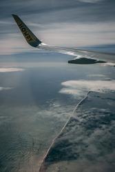Howdy, Flight to Florida, Window seat
