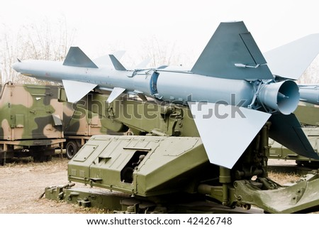 HQ-2 medium-range ground-to-air missile in china