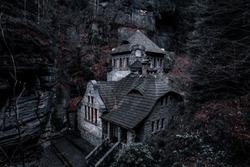 Hrensko Horror House Elbsandsteingebirge Czech