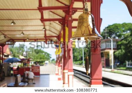 Hua Hin train station in Thailand
