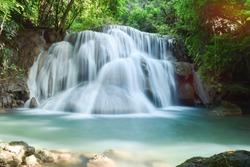 Huai Mae Khamin Waterfall, Kanchanaburi