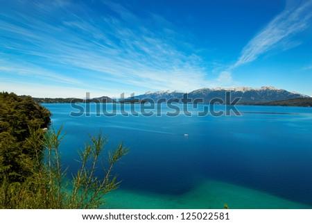 Huapi Lake, Villa La Angostura, close to Bariloche, Argentina, South America