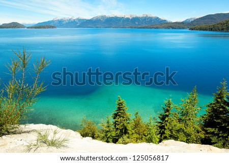 Huapi Lake, Villa La Angostura, close to Bariloche, Argentina, South America