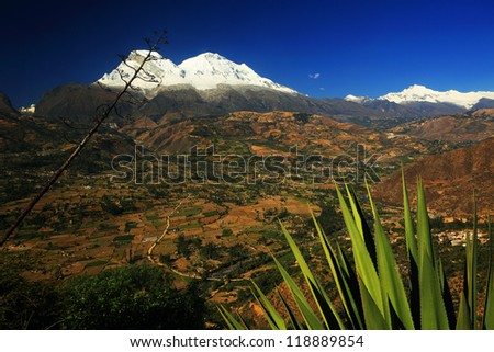 Huascaran Peaks (6768m), Peru, South America