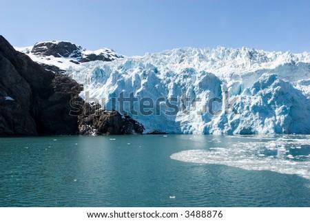 Hubbard Glacier in Seward, Alaska