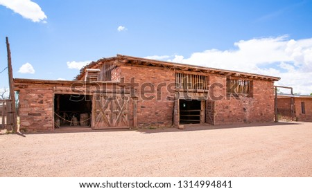 Hubbell Trading Post National Historic Site in Arizona, USA