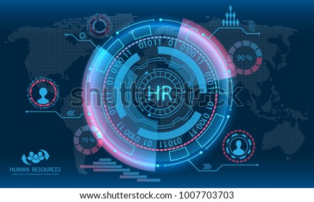 HUD Elements, Search Human Resources, HR