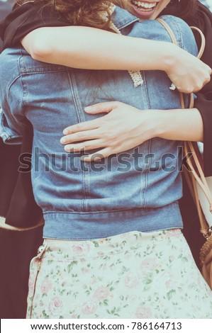 Hug,Happy with a hug.Happy to meet your best friend with a hug,Show love with hugs,friend hugging,couple hugging