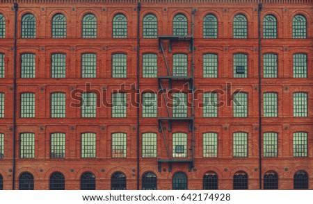 huge red brick classic...