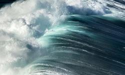 Huge Wave at Bondi Beach, Sydney Australia