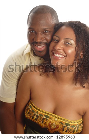 stock photo : Hugging young couple, very much in love